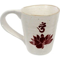 Lotus Om 10 oz Ceramic Mug