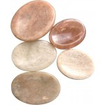 Moonstone Worry Stone at Tree of Life Journeys, Reconnect with Yourself - Meditation, Law of Attraction, Spiritual Products