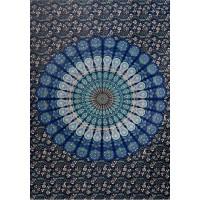 Peacock Mandala Tapestry