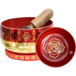 Root Chakra Small Singing Bowl Set Tree of Life Journeys Reconnect with Yourself - Meditation, Law of Attraction, Spiritual Products