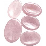 Rose Quartz Worry Stone at Tree of Life Journeys, Reconnect with Yourself - Meditation, Law of Attraction, Spiritual Products