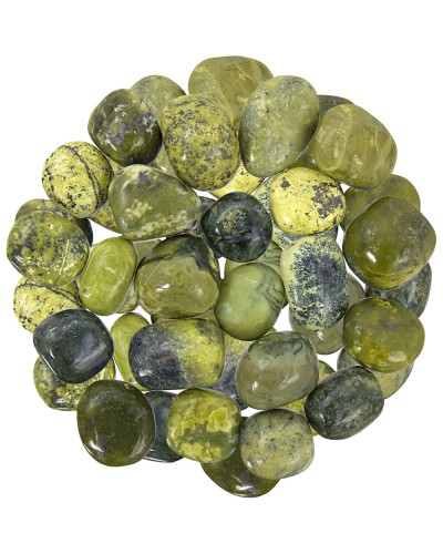Serpentine Tumbled Stones - 1 Pound Bag at Tree of Life Journeys, Reconnect with Yourself - Meditation, Law of Attraction, Spiritual Products