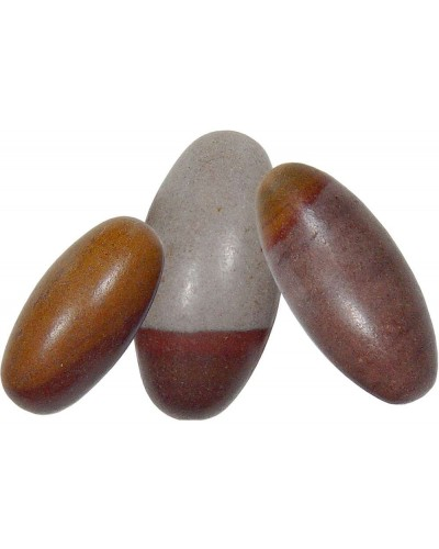 Shiva Lingam Stone - Set of 6 1.5 Inch Sacred Stones at Tree of Life Journeys, Reconnect with Yourself - Meditation, Law of Attraction, Spiritual Products