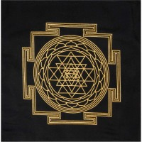 Sri Yantra Crystal Grid