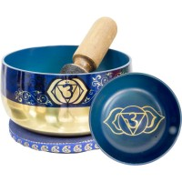 Third Eye Chakra Small Singing Bowl Set