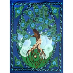 Tree of Life Tapestry Tree of Life Journeys Reconnect with Yourself - Meditation, Law of Attraction, Spiritual Products