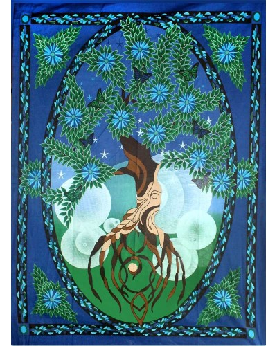 Tree of Life Tapestry at Tree of Life Journeys, Reconnect with Yourself - Meditation, Law of Attraction, Spiritual Products