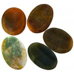 Jasper Worry Stone at Tree of Life Journeys, Reconnect with Yourself - Meditation, Law of Attraction, Spiritual Products