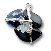Clarity Gemstone Magical Amulet