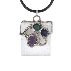 Channeling Beam of Light Pendant Tree of Life Journeys Reconnect with Yourself - Meditation, Law of Attraction, Spiritual Products