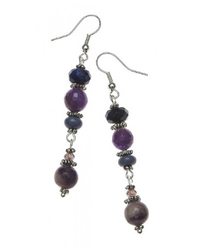 Dai-Ko-Myo Reiki Gemstone Earrings at Tree of Life Journeys, Reconnect with Yourself - Meditation, Law of Attraction, Spiritual Products