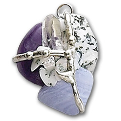 Inner Peace Gemstone Magical Amulet Tree of Life Journeys Reconnect with Yourself - Meditation, Law of Attraction, Spiritual Products