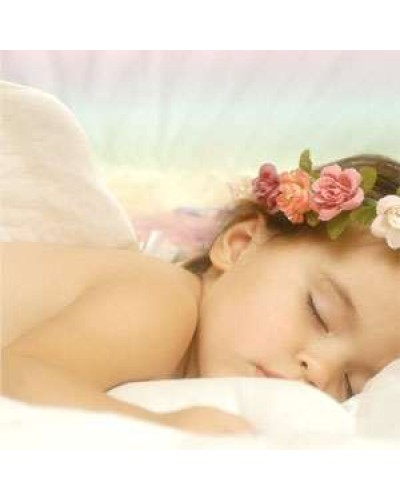 Sleeping Angel Greeting Card with CD