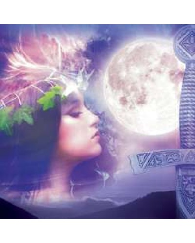 Celtic Moon Greeting Card with Music CD at Tree of Life Journeys, Reconnect with Yourself - Meditation, Law of Attraction, Spiritual Products