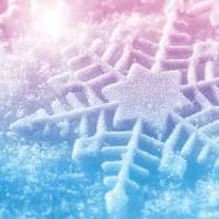 Snowflake Christmas Greeting Card with CD