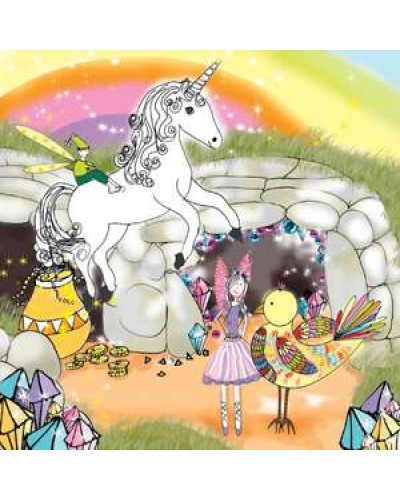 Unicorn Eeny Card with Story Time CD