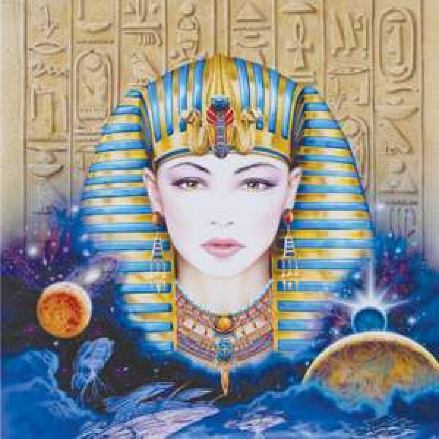 Egyptian greeting card with cd musical greeting card egyptian greeting card with cd at tree of life journeys reconnect with yourself meditation kristyandbryce Gallery