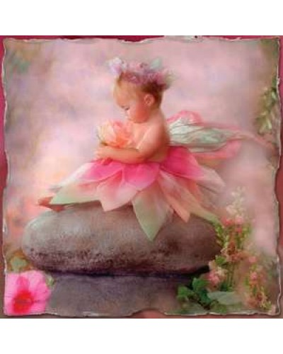 Baby Fairy Greeting Card with CD at Tree of Life Journeys, Reconnect with Yourself - Meditation, Law of Attraction, Spiritual Products