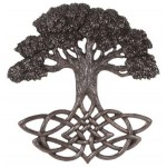 Tree of Life Celtic Knot Bronze Plaque at Tree of Life Journeys, Reconnect with Yourself - Meditation, Law of Attraction, Spiritual Products
