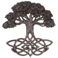 Tree of Life Celtic Knot Bronze Plaque Tree of Life Journeys Reconnect with Yourself - Meditation, Law of Attraction, Spiritual Products