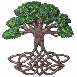 Tree of Life Celtic Knot Wall Plaque Tree of Life Journeys Reconnect with Yourself - Meditation, Law of Attraction, Spiritual Products