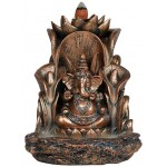 Ganesha Backflow Incense Burner at Tree of Life Journeys, Reconnect with Yourself - Meditation, Law of Attraction, Spiritual Products