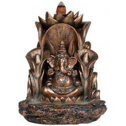 Ganesha Backflow Incense Burner Tree of Life Journeys Reconnect with Yourself - Meditation, Law of Attraction, Spiritual Products