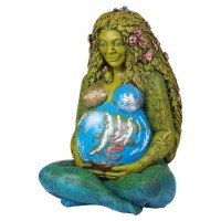 Millennial Gaia Mother Earth 14 Inch Statue