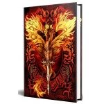 Dragon Flame Blade Embossed Journal at Tree of Life Journeys, Reconnect with Yourself - Meditation, Law of Attraction, Spiritual Products