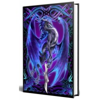 Dragon Storm Blade Embossed Journal