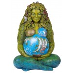 Gaia Mother Earth 14 Inch Statue at Tree of Life Journeys, Reconnect with Yourself - Meditation, Law of Attraction, Spiritual Products