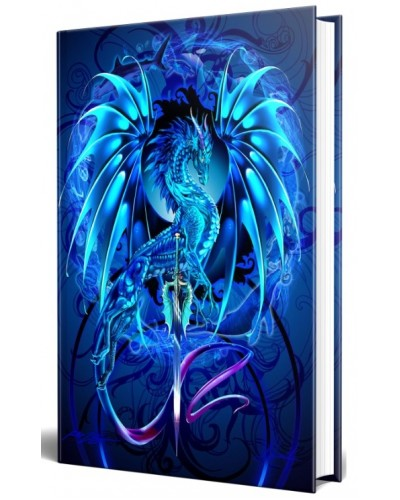Dragon Sea Blade Embossed Journal at Tree of Life Journeys, Reconnect with Yourself - Meditation, Law of Attraction, Spiritual Products
