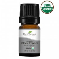 Black Pepper Organic Essential Oil for Pain Relief