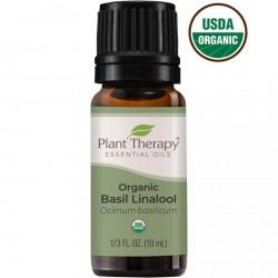 Basil Linalool Organic Essential Oil for Calm Focus