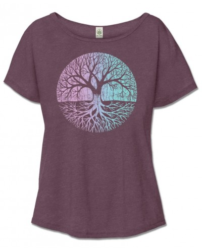 Tree of Life Relaxed Fit Top at Tree of Life Journeys, Reconnect with Yourself - Meditation, Law of Attraction, Spiritual Products