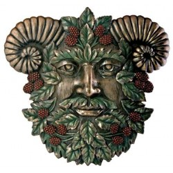 Greenman Summer Wall Plaque Tree of Life Journeys Reconnect with Yourself - Meditation, Law of Attraction, Spiritual Products