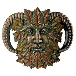 Greenman Fall Wall Plaque Tree of Life Journeys Reconnect with Yourself - Meditation, Law of Attraction, Spiritual Products