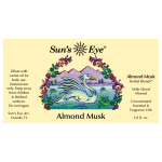 Almond Musk Herbal Oil Blend at Tree of Life Journeys, Reconnect with Yourself - Meditation, Law of Attraction, Spiritual Products