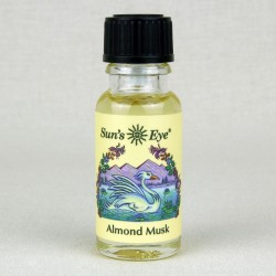 Almond Musk Herbal Oil Blend Tree of Life Journeys Reconnect with Yourself - Meditation, Law of Attraction, Spiritual Products
