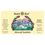 Almond Sandelo Herbal Oil Blend at Tree of Life Journeys, Reconnect with Yourself - Meditation, Law of Attraction, Spiritual Products
