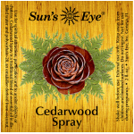 Cedarwood Spray Mist at Tree of Life Journeys, Reconnect with Yourself - Meditation, Law of Attraction, Spiritual Products