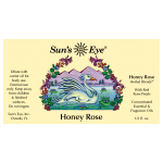 Honey Rose Herbal Oil Blend at Tree of Life Journeys, Reconnect with Yourself - Meditation, Law of Attraction, Spiritual Products