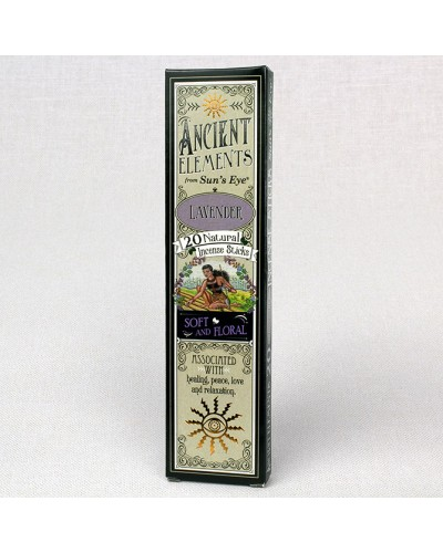 Lavender Ancient Elements Incense Sticks at Tree of Life Journeys, Reconnect with Yourself - Meditation, Law of Attraction, Spiritual Products