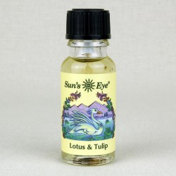 Lotus & Tulip Herbal Oil Blend Tree of Life Journeys Reconnect with Yourself - Meditation, Law of Attraction, Spiritual Products