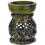 Soapstone Pierced Lace Oil Burner at Tree of Life Journeys, Reconnect with Yourself - Meditation, Law of Attraction, Spiritual Products