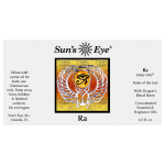 Ra Egyptian God Oil at Tree of Life Journeys, Reconnect with Yourself - Meditation, Law of Attraction, Spiritual Products
