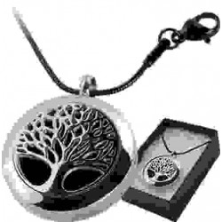 Tree of Life Aromatherapy Locket Necklace Tree of Life Journeys Reconnect with Yourself - Meditation, Law of Attraction, Spiritual Products