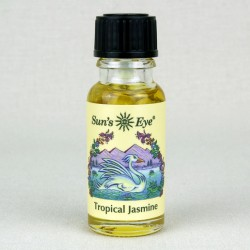 Tropical Jasmine Herbal Oil Blend Tree of Life Journeys Reconnect with Yourself - Meditation, Law of Attraction, Spiritual Products