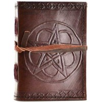 Pentagram Leather Pocket Size Journal