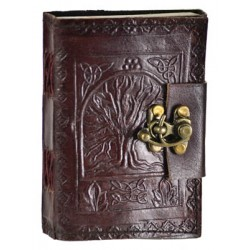 Tree of Life Pocket Journal with Latch Tree of Life Journeys Reconnect with Yourself - Meditation, Law of Attraction, Spiritual Products